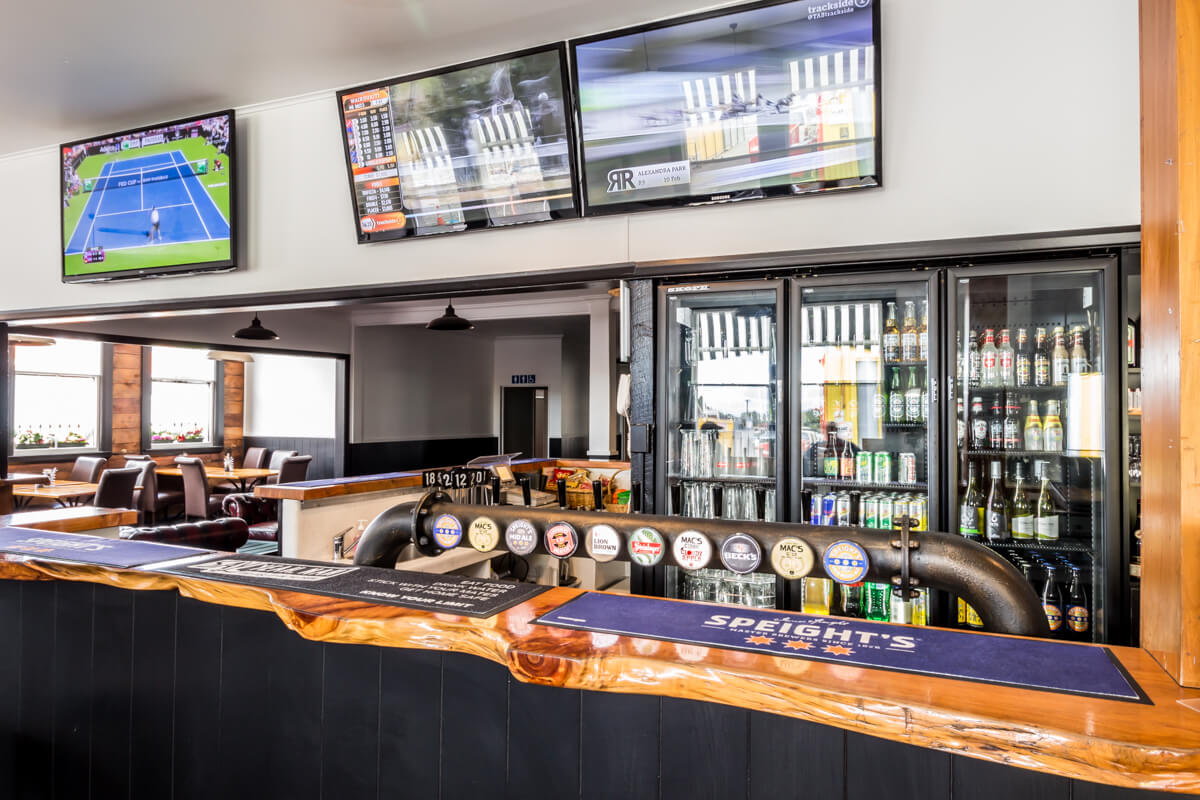 Beer On Tap At Waterfront Bar And Grill In Blenheim