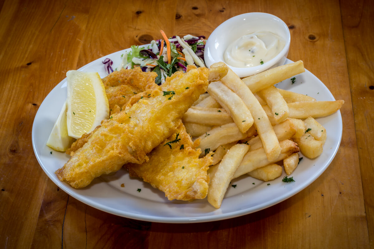 Fish Of The Day At Waterfront Bar And Grill In Blenheim