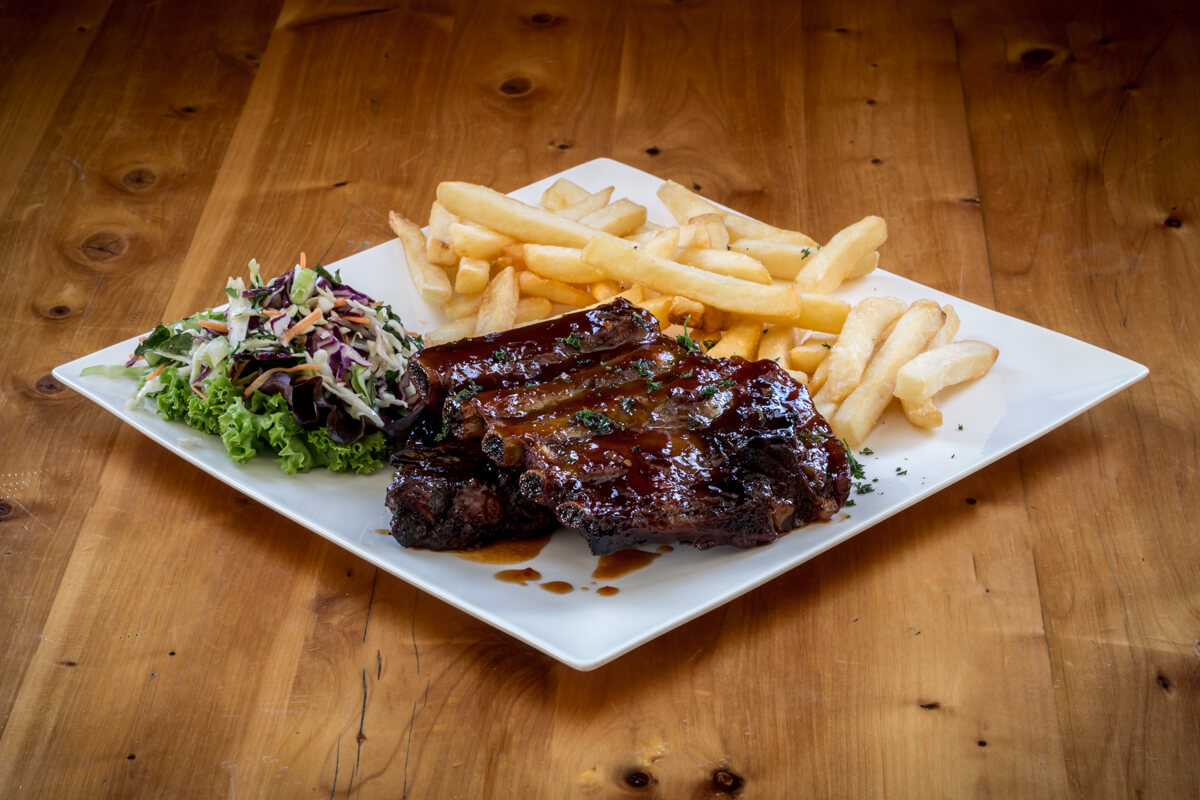 Sticky Spare Ribs At Waterfront Bar And Grill In Blenheim