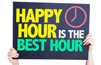 Come For Happy Hour At Waterfront Bar And Grill