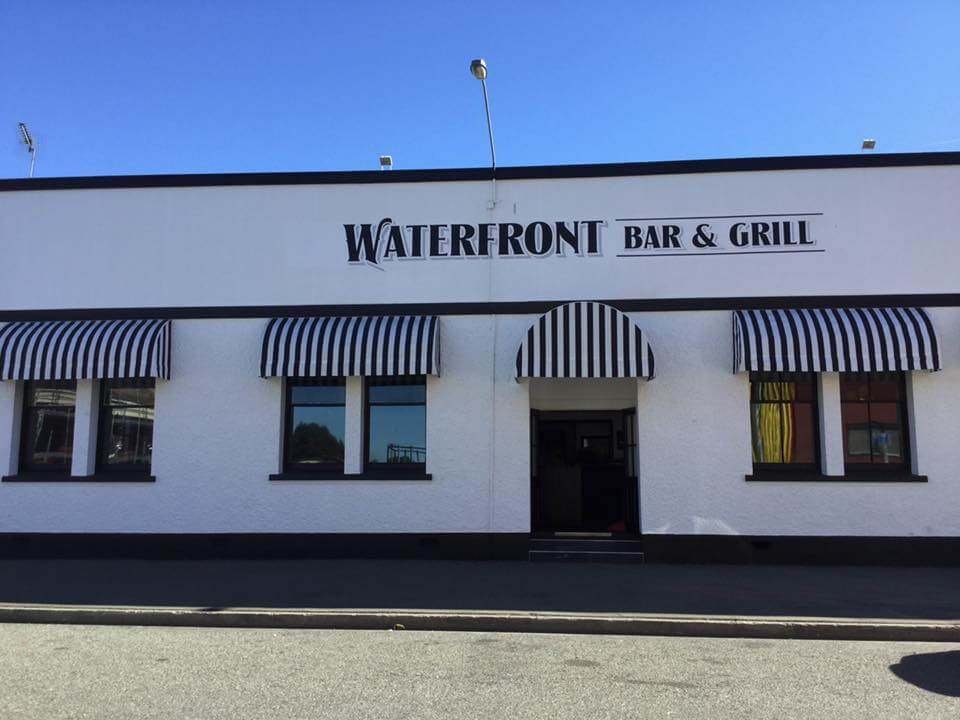 Outside View Of Waterfront Bar And Grill